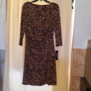 NWT MICHAEL Kors  lovely animal print dress